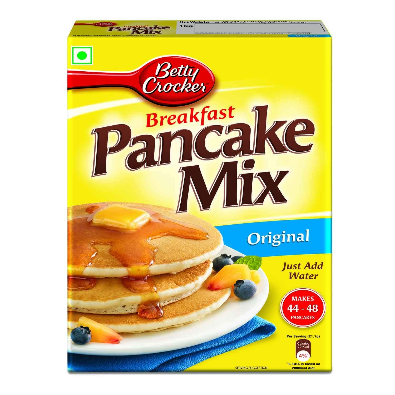 Betty Crocker Pancake Mix - All About Baking