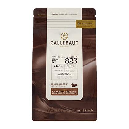 Callebaut 823NV - Milk Callets