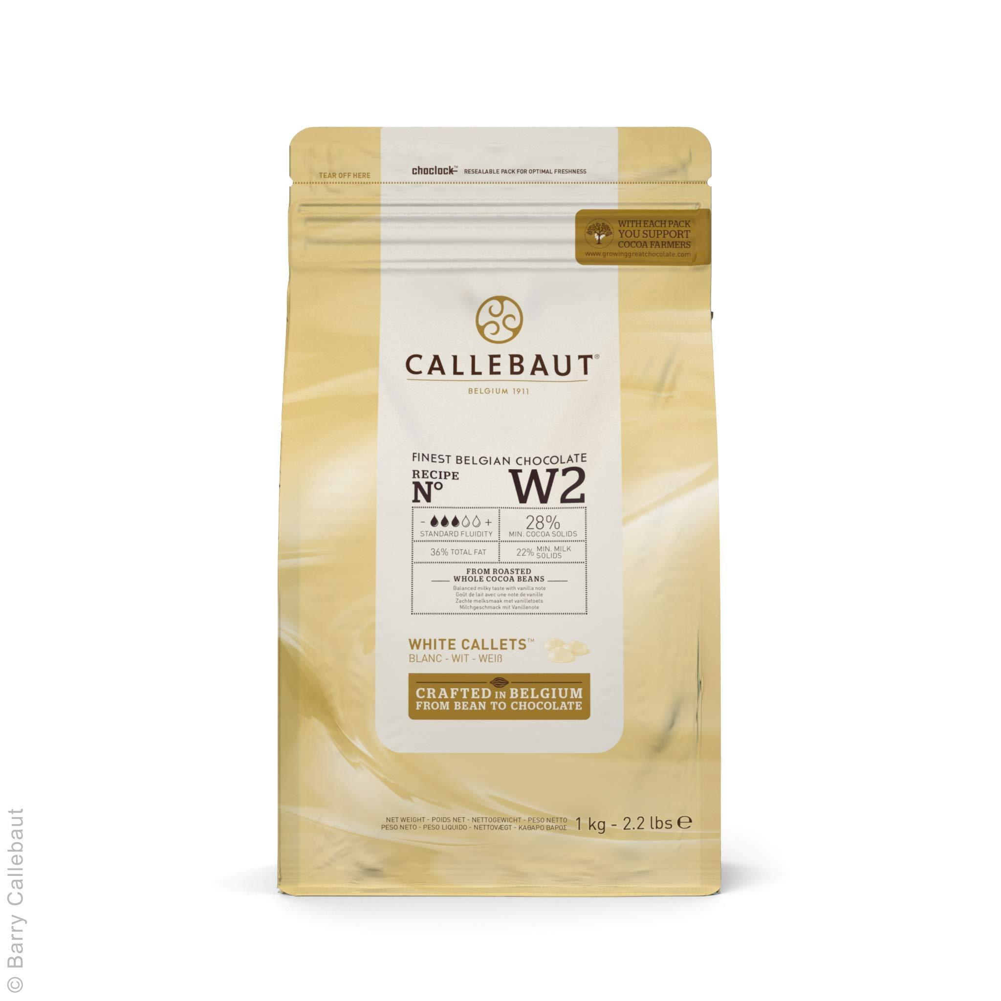 Callebaut W2 | White Chocolate Callets