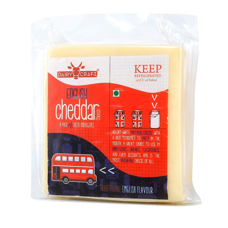 Dairy Craft English Cheddar - Cheddar Cheese