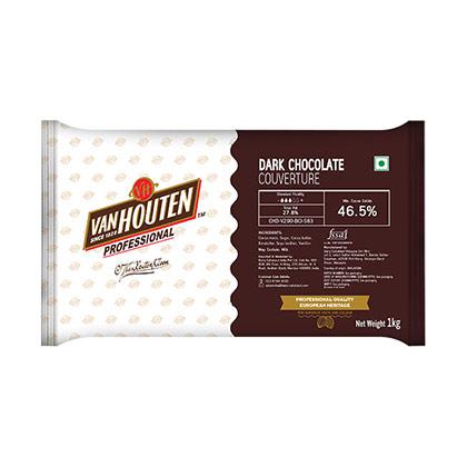 Van Houten Dark Couverture 46.5% Dark Chocolate
