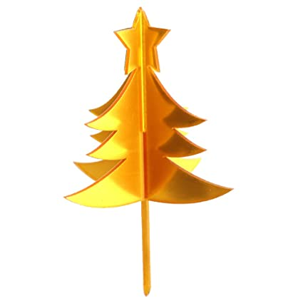 Christmas Tree Toppers- cake toppers- All About Baking