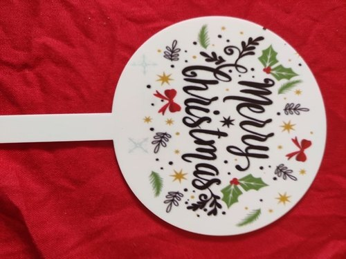 Christmas Toppers- cake toppers- All About Baking