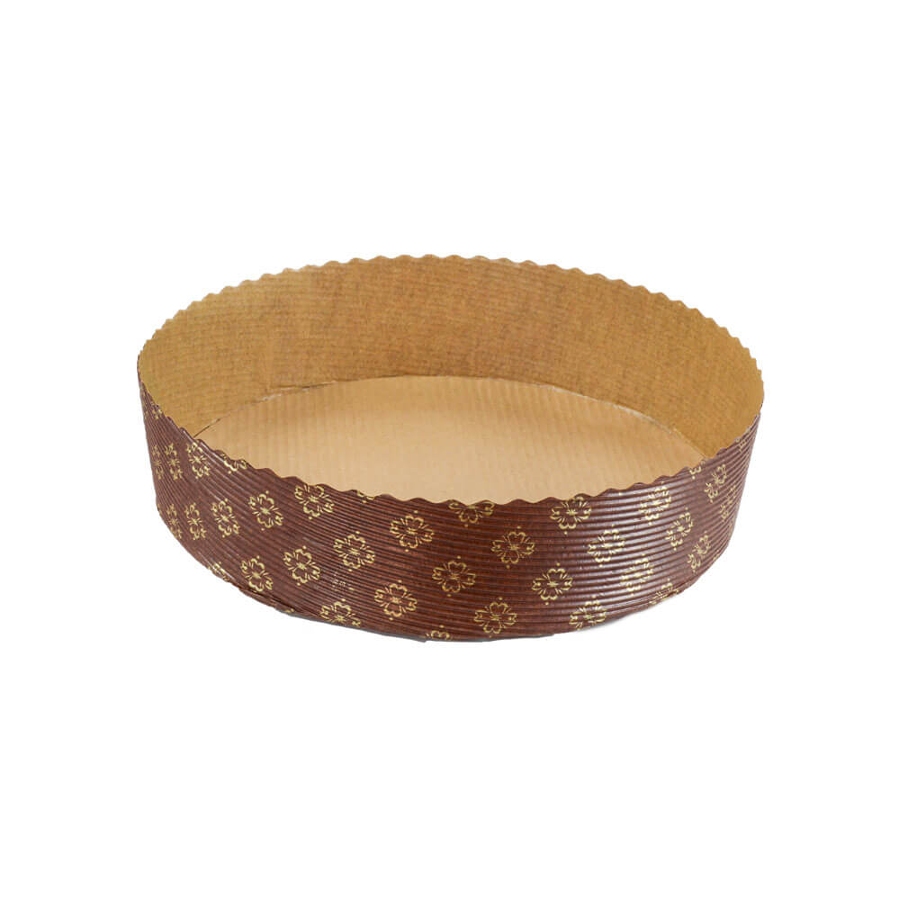 Bake n Serve Panettone Basso Large- paper baking mould- All About Baking