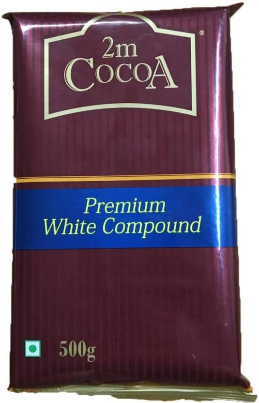 2M Cocoa Premium White Compound Bar 500gms