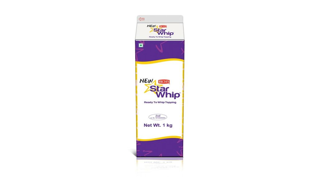 Rich Star Whipping Cream 1kg   All About Baking